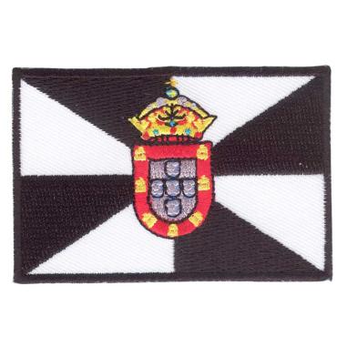Parche bordado bandera de Ceuta pack 3 uds