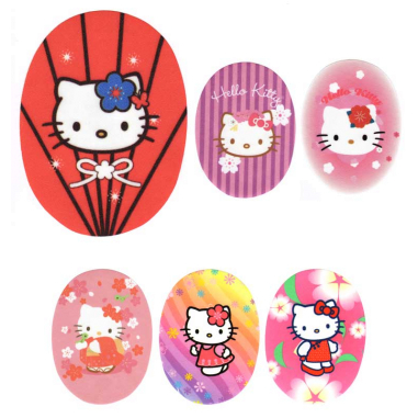 Rodilleras estampadas Hello Kitty 2 Surtido 6 uds
