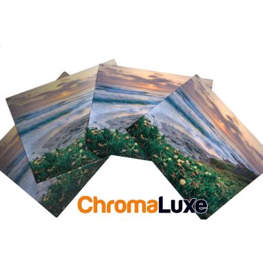 Paneles fotográficos de aluminio blanco brillo
