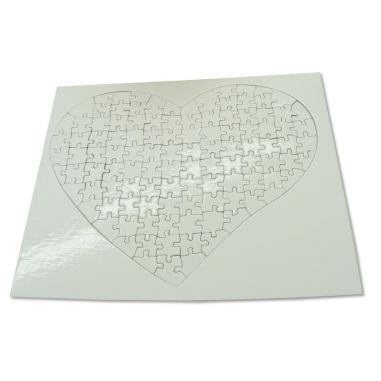Corazón de cartón 104 Piezas
