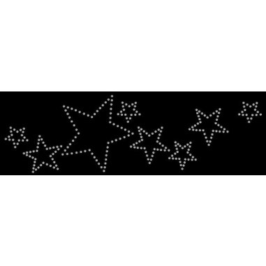 Diseño de pedrería Estrellas