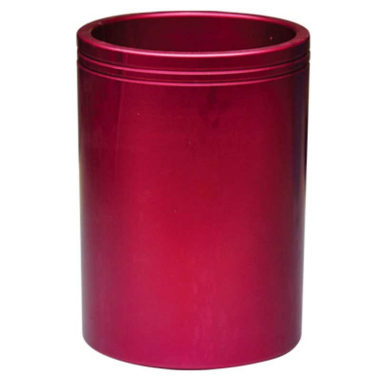 Horma de aluminio para tazas de plástico