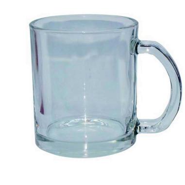 Taza de Cristal Transparente