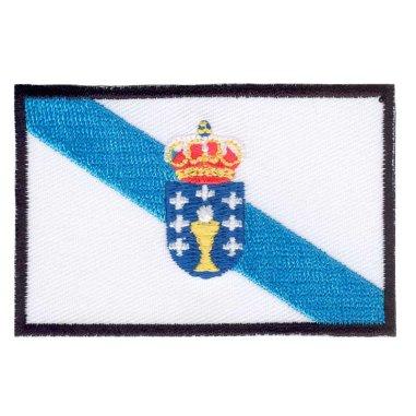 Parche bordado bandera de Galicia pack 3 uds