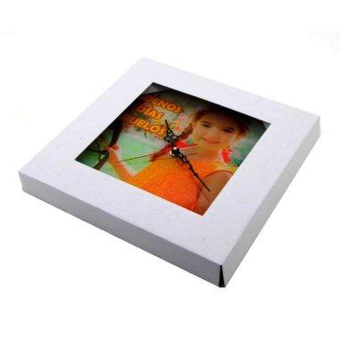 Caja de regalo para reloj de cristal cuadrado