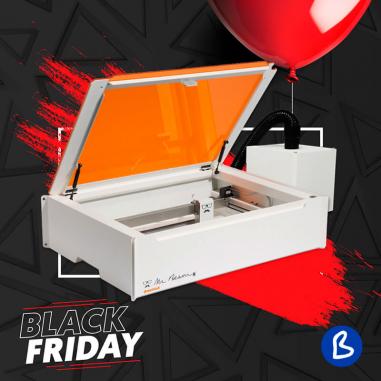 Pack filtro de aire y máquina láser de sobremesa para corte y grabado Mr. Beam II Dreamcut - Black Friday 2020