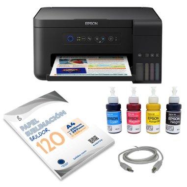 Pack Sublimación impresora Epson ET-2700 A4