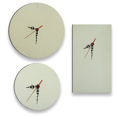 Paneles reloj para sublimación
