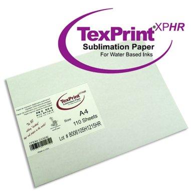 Papel Sublimación en hojas TexPrint-XP para Epson y otras impresoras