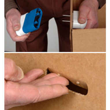 Perforadora de asas para cajas Box Buddy - Modo de empleo