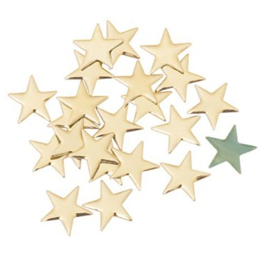 Pedrería de Metal Estrella Bolsa 5 gruesas