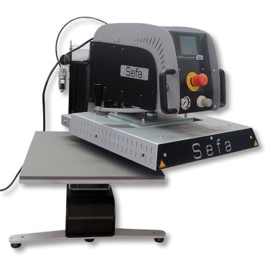 Plancha neumática giratoria Sefa Rotex Air Pro de 40x50