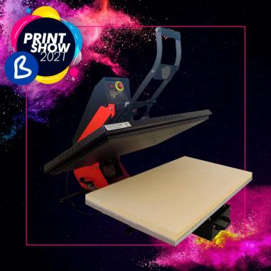 Plancha transfer Brildor A3.2 80x50 - BPrint Show 2021