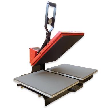 Plancha transfer Brildor A3.2 de doble plato de 40x50cm
