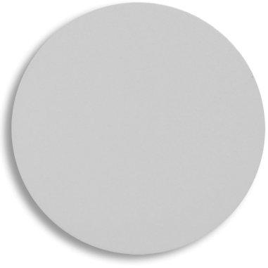 Placa de aluminio adicional para caja de metal redonda con vela