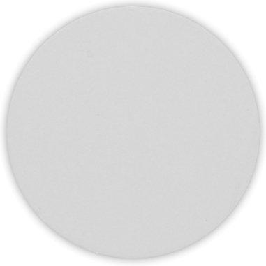 Placa de aluminio de Ø 24 mm para collar redondo