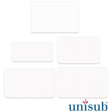 Placas identificativas para sublimación de aluminio