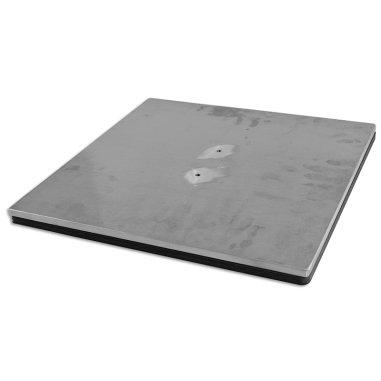 Plato inferior de 38 x 38 con almohadilla de silicona para planchas Combo C1.1,C5.1,C8.1 y Zapatillas