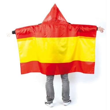 Poncho bandera España