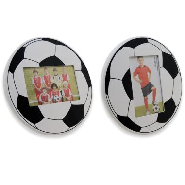 Portafotos pelota de fútbol