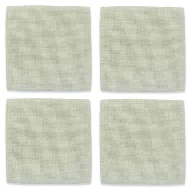 Posavasos cuadrado para sublimación tejido símil lino - Pack 4 uds