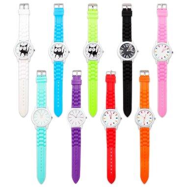 Relojes de pulsera en colores surtidos