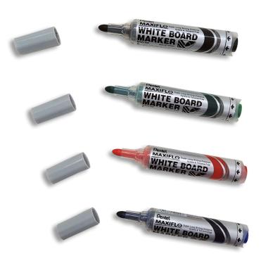Rotuladores en gel Pentel Maxiflo para pizarra blanca - Punta visible
