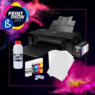 Sistema de impresión por transfer DTF - Pack ahorro A3