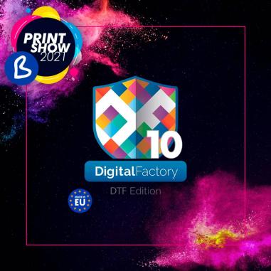 Software Rip CADlink Digital Factory v10 DTF Edition - BPrint Show 2021