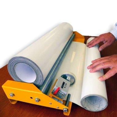 Soporte de rodillos para rollos con cuentametros - Ejemplo