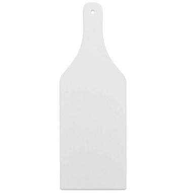Tabla de cortar de cristal para sublimacion forma botella