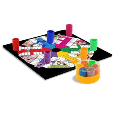 Tablero para Juegos - Parchis 6 jugadores