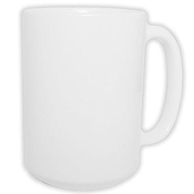 Taza blanca de 15oz calidad extra