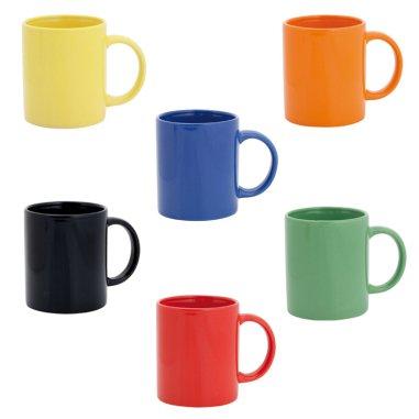 Taza de cerámica colores