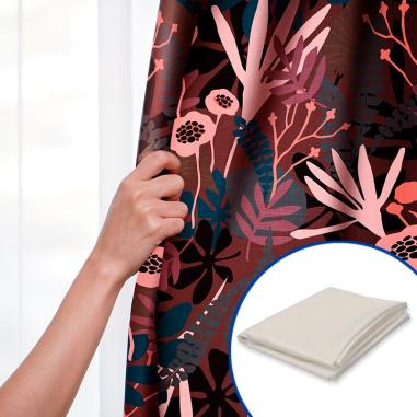 Tela para sublimación de poliéster tacto algodón