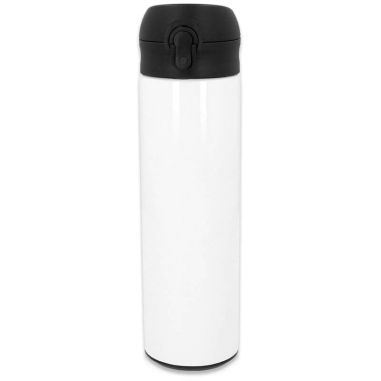 Termo 500ml acero inoxidable blanco
