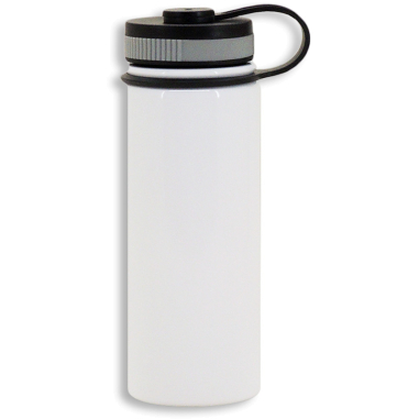 Termo para sublimación de acero inoxidable blanco de 500ml