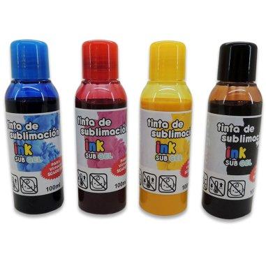Tintas de sublimación InkSub GEL para Virtuoso SG400/800