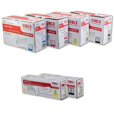 Toners y tambores para impresora OKI C5650 y C5750