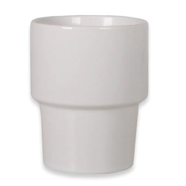 Vaso de cerámica para sublimación apilable
