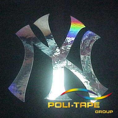 Vinilo Textil Metallic Brillo espejo de Poli-tape - Por metros