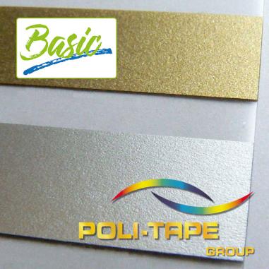 Vinilo Textil Basic Metallic Premium de Poli-tape - Por metros