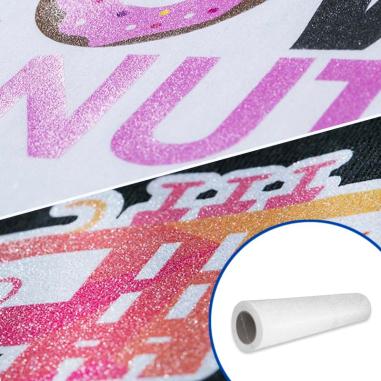 Vinilo Textil Imprimible GlitterPrint de 50cm