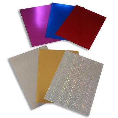 Vinilo Textil Metálico - Pack de 10 hojas A4