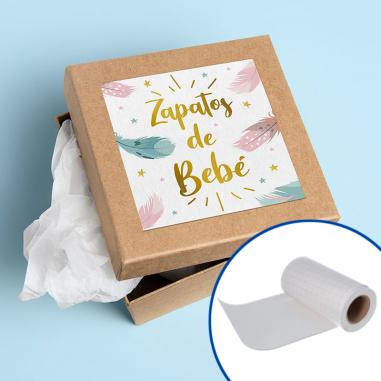 Vinilo adhesivo flock blanco imprimible