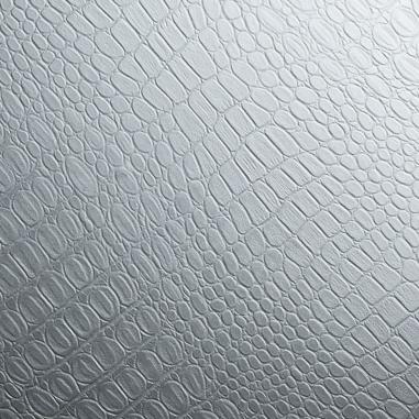 Vinilo decorativo multisuperficies efecto piel - Cocodrilo gris plomo