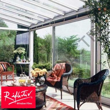 Vinilo para cristales con 75% de protección solar para interior