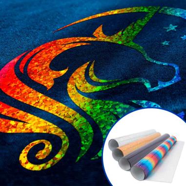 Vinilo Textil Poli-Flex® Starflex Holográfico