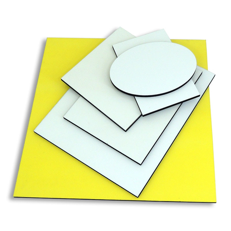 Azulejos de madera prensada blanco brillo para sublimar - Azulejos blanco brillo ...
