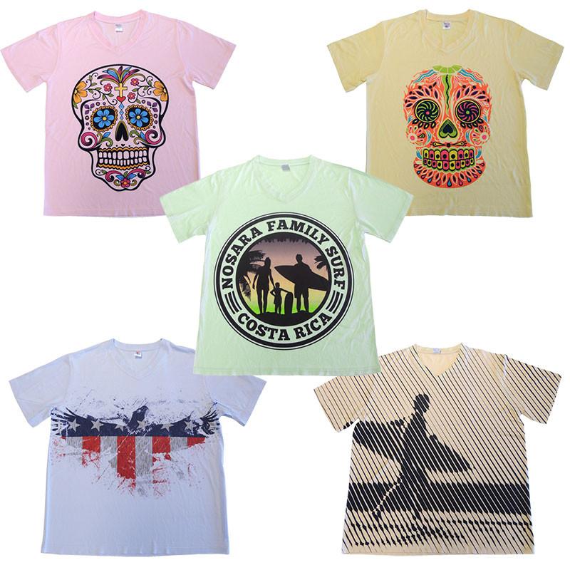 Camiseta para sublimación tacto algodón colores pastel • Brildor ® 61abca0ca9206
